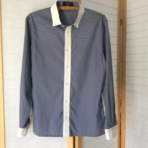 """size 48 Viktor & Rolf """"monsieur"""" long sleeve shirt"""